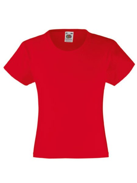 T-Shirt Girl F288K Red
