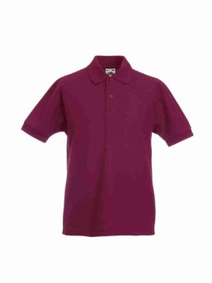 Fruit of the Loom Poloshirt Kids F502K mit Bestickung