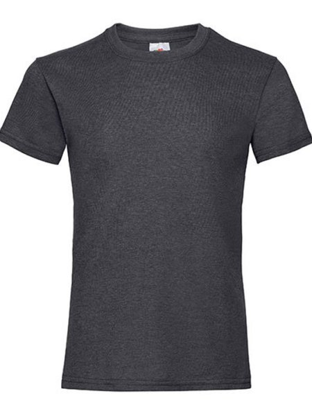 T-Shirt Girl F288K Dark Grey Heather