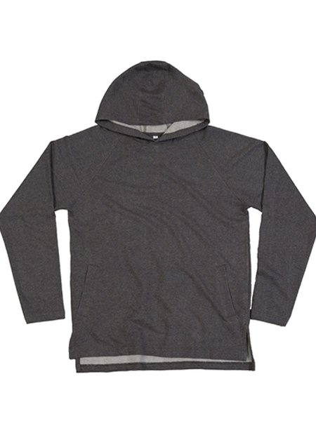 Mantis One Hoodie Charcoal Grey Melange