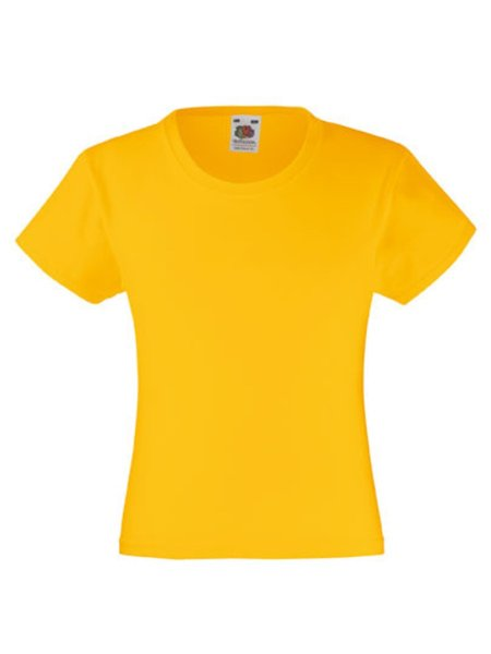 T-Shirt Girl F288K Sunflower