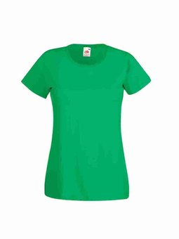 Besticktes Damen T-Shirt Fruit of the Loom F288N