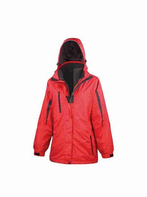 Women`s 3-in-1 Journey Jacket with Soft Shell inner RT400F mit Bestickung
