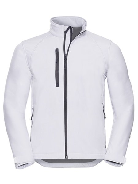 Russel Soft Shell Jacket Z140 White