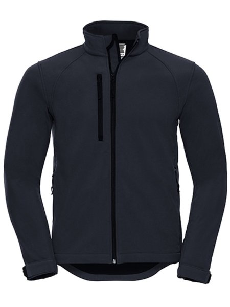 Russel Soft Shell Jacket Z140 French Navy