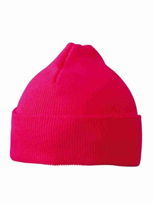 Myrtle Beach Knittet Cap for Kids MB7501 mit Bestickung