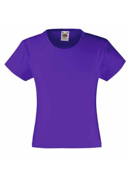 T-Shirt Girl F288K Purple