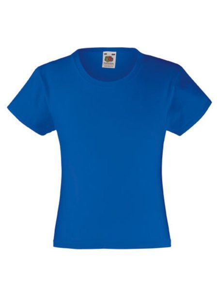 T-Shirt Girl F288K Royal Blue