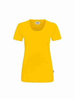 Damen T-Shirt Hakro 127 mit Stickerei