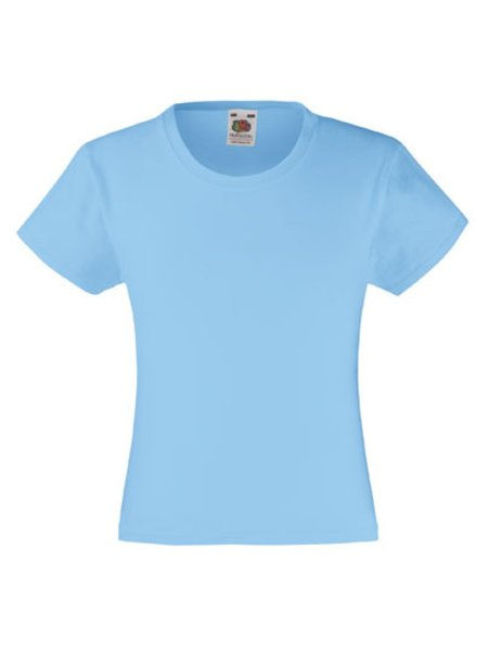 T-Shirt Girl F288K Sky Blue