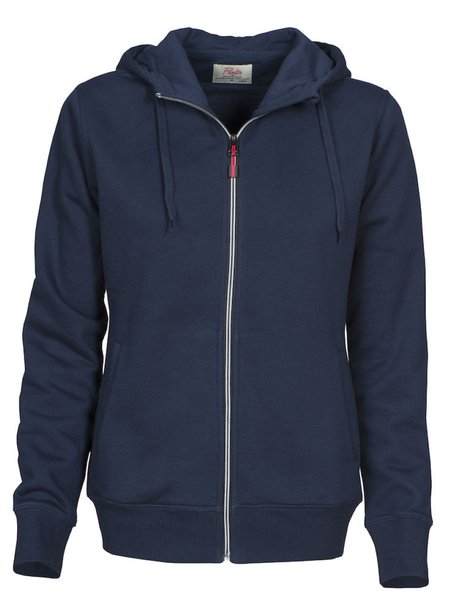 Printer Overhead lady college jacket Navy