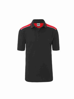 James & Nicholson Men's Workwear Polo JN858 mit Bestickung