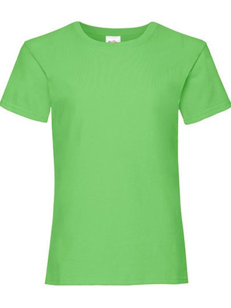 T-Shirt Girl F288K Lime