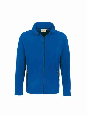 Fleecejacke Langley Hakro 840 mit Stickerei