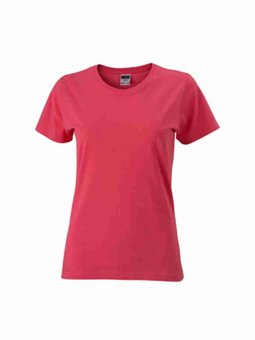 Besticktes Damen T-Shirt James & Nicholson JN971