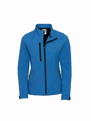 Russel Ladies` Soft Shell Jacket Z140F mit Bestickung