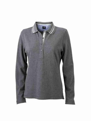 Damen Poloshirt James & Nicholson JN967 mit Stickerei