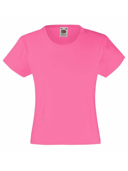 T-Shirt Girl F288K Fuchsia