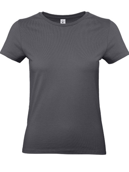 B&C #E190 Women Dark Grey (solid)