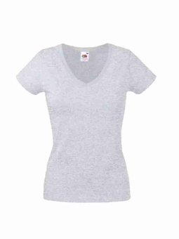 Besticktes Damen T-Shirt Fruit of the Loom F721N
