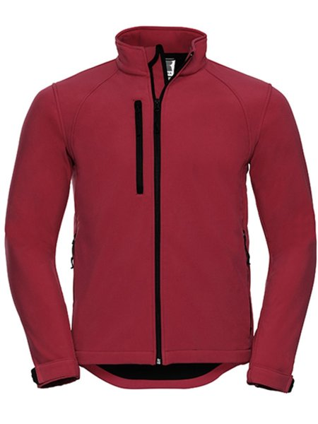 Russel Soft Shell Jacket Z140 Classic Red