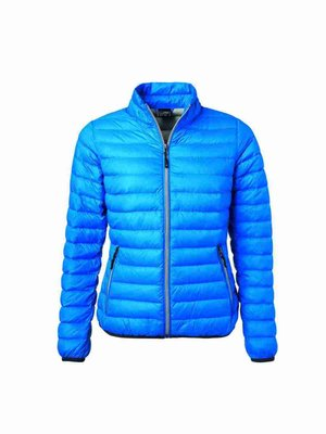 James & Nicholson Ladies´ Down Jacket JN1139 mit Bestickung