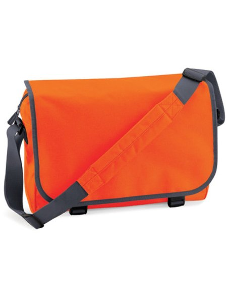 BagBase Reportertasche BG21 Orange Graphite Grey